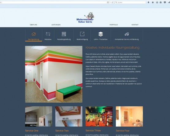Malermeister-Website