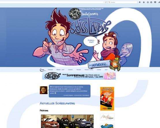 Schisslaweng-Website
